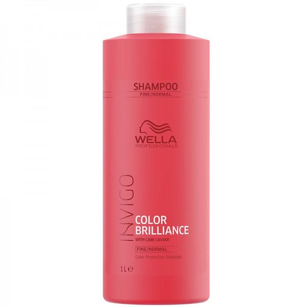 Wella Invigo Color Brilliance Shampoo Fine/Normal 1000ml